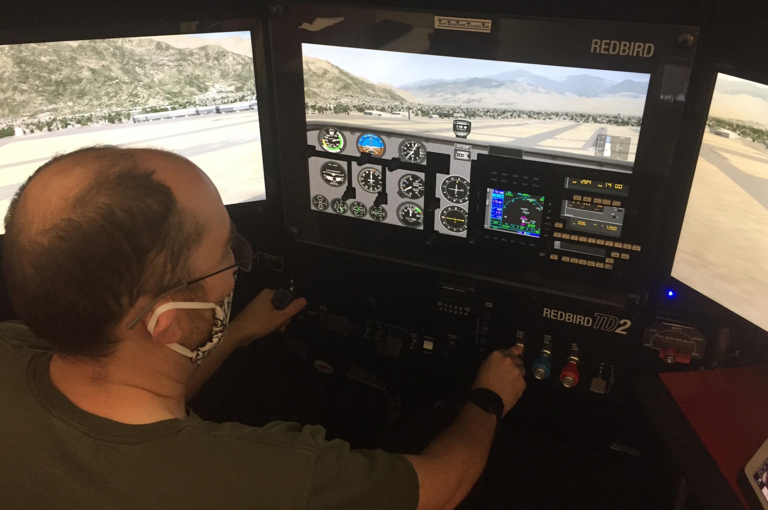 7Flt Sim Cust VFR Day Lng